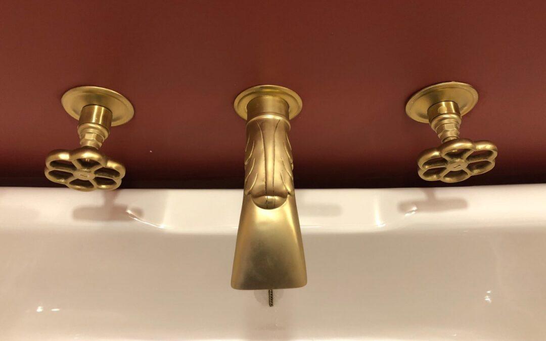 Come pulire la rubinetteria in ottone