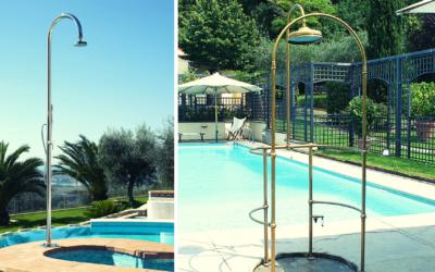 Doccia per esterno: a bordo piscina o in giardino?